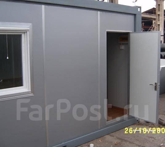 Жилой модуль контейнерного типа, блок-контейнер, мобильный дом, бытовк