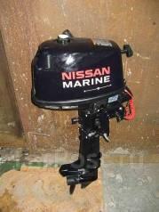 лодочный мотор nissan marine nsf 6 b купить