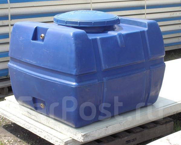 бак для воды 200 литров во владивостоке