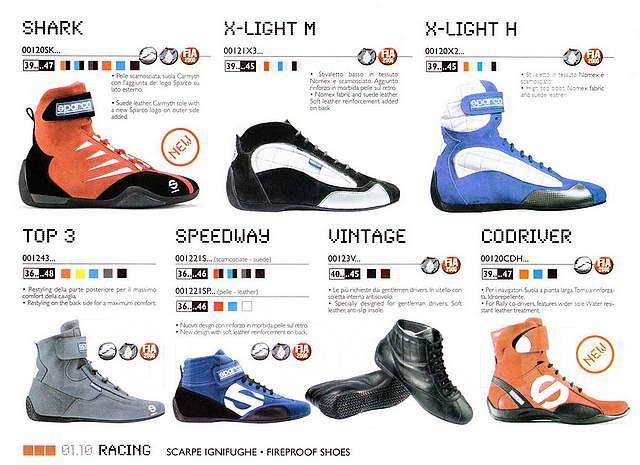 Огнеупорная обувь sparco