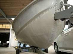 Алюминиевая лодка Mirrocraft F4652 Johonson 10hp. двигатель подвесной, бензин