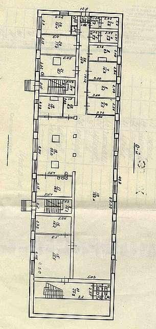 Столовые. Улица Угловая 48, р-н Сахпоселок, 426кв.м. План помещения
