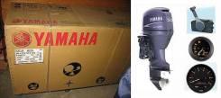 Yamaha F50 новая 4-тактная продаётся. 50,00л.с., 4х тактный, бензин, нога L (508 мм), Год: 2016 год