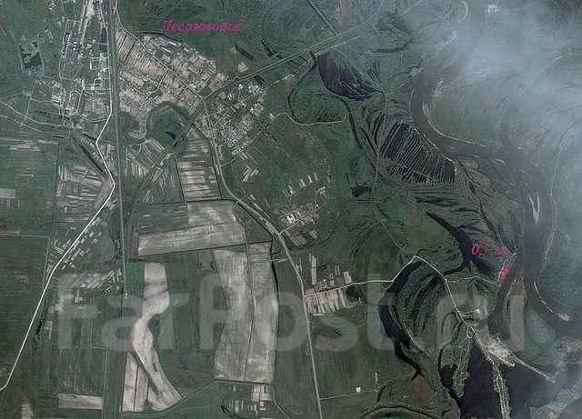 Земельный участок 70 сот. в собственности на реке Уссури Обмен НА АВТО. 7 000 кв.м., собственность, электричество, вода. Схема участка