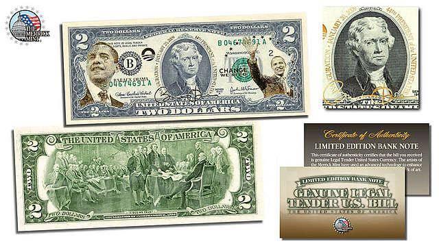 Двухдолларовая купюра стоимость монеты и термины