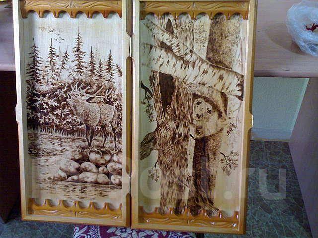 фото рисунки на нарды