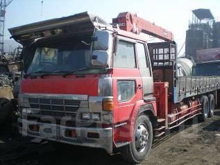 Хино 1992 г, г/п 20 тонн, с краном 5 тонн на запчасти.