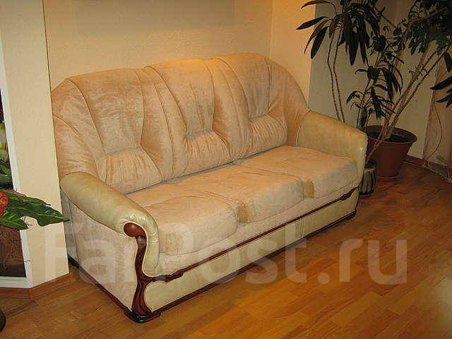 Профессиональный ремонт и перетяжка мягкой мебели
