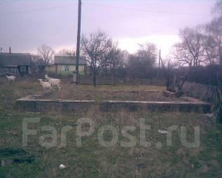 Земельный участок 15 сот. собственность, с. Кипарисово-1 Адрес+фундамент. 1 500кв.м., собственность, электричество, вода. Фото участка