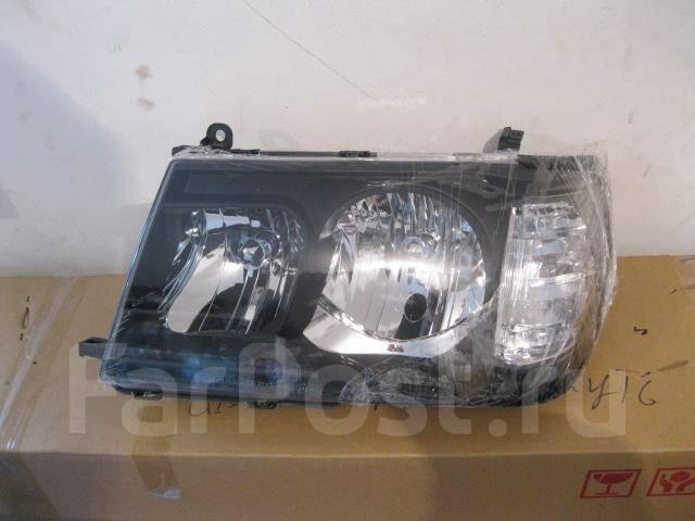 Фары тюнинг черные для Land Cruiser 100 под старые планки и решетку. Toyota Land Cruiser, HZJ105L, HDJ100, HZJ76L, UZJ100L, HDJ100L, HZJ105, FZJ105, H...