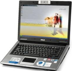 Ноутбук Asus F5N. 1,9ГГц, ОЗУ 2048 Мб, диск 160 Гб, WiFi, Bluetooth, аккумулятор на 2 ч.