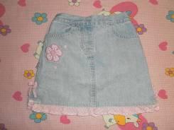 Юбки джинсовые. Рост: 86-92, 92-98 см