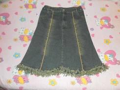 Юбки джинсовые. Рост: 146-152 см