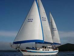 Аренда парусной яхты. 12 человек, 18км/ч