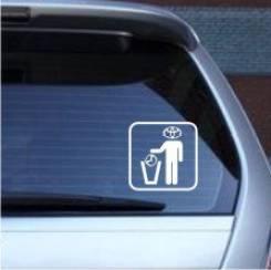 Наклейка. Toyota Mazda