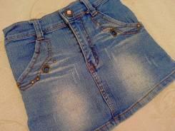 Юбки джинсовые. Рост: 80-86 см