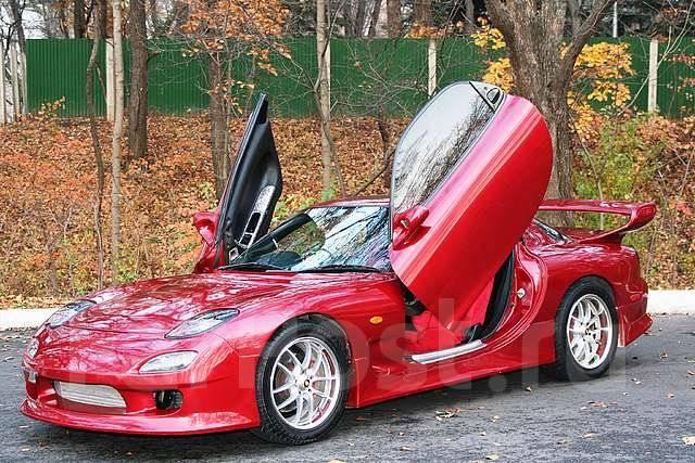Спойлер. Mazda Efini RX-7, FD3S Mazda RX-7, FD3S Mazda Savanna RX-7, FD3S