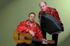 Народный (фольклорный) ансамбль «Баркас» гитара баян романсы песни
