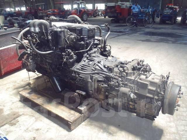 Двигатель в сборе. Kato