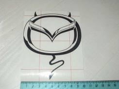 Наклейка. Mazda Chante