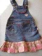 Сарафаны джинсовые. Рост: 104-110 см