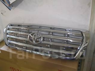 Накладка на решетку бампера. Toyota Land Cruiser