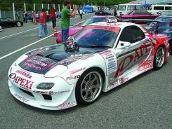 Обвес кузова аэродинамический. Mazda RX-7, FD3S Двигатель 13BREW