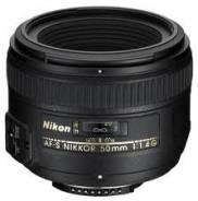 "Новый Объектив Nikon 50mm f/1.4G AF-S. ""Тапир-фото"" В наличии. Для Nikon"