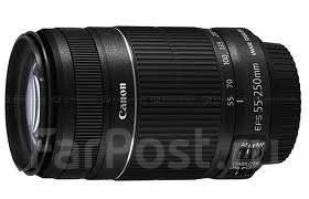 Новый Объектив Сanon EF-S 55-250 F4-5.6 IS STM. В Наличии! Тапир-фото. Для Canon, диаметр фильтра 58 мм