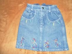 Юбки джинсовые. Рост: 98-104 см