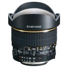 "Объектив Samyang 8mm f3.5 Fisheye APS-C Canon, Nikon. ""Тапир-фото"". Для Canon"