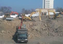 Земляные работы, котлован, рыхление, вывоз грунта, фундамент, долбежник