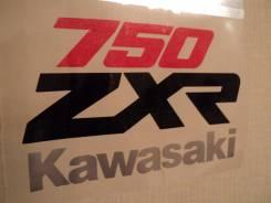 Наклейка Кавасаки kawasaki набор 750 2шт отправка по стране.0 рубл