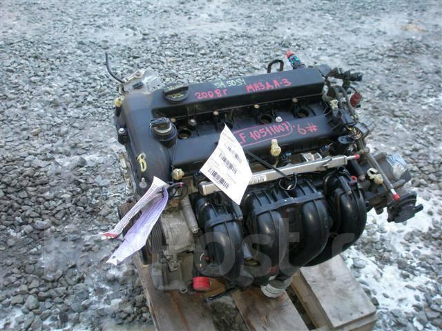 мотор mazda lf-ve