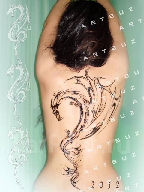 рисунки по телу хной фото