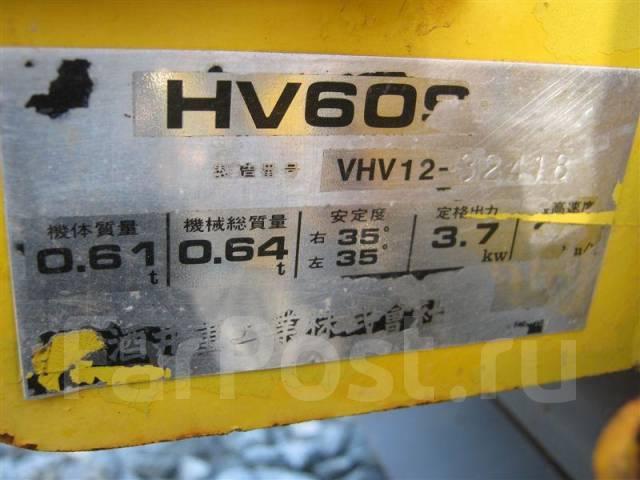 HV60, 2001. Виброкаток Sakai HV 60, 2001 г. в.