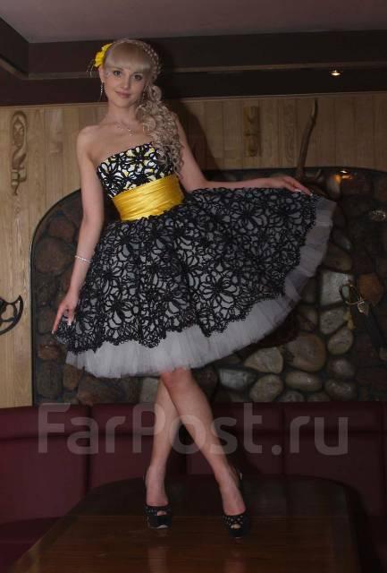 3c886a2c3c484b7 Вечернее платье Оксаны Мухи 2011 Pret-a-Porter! Срочно - Основная ...