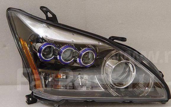 тюнинг оптика лексус rx330