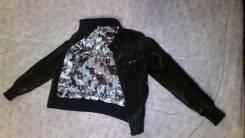 Женская кожаная куртка размер S. 42