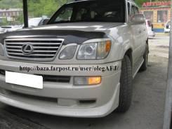 Дефлектор капота. Lexus LX470, UZJ100 Toyota Land Cruiser, UZJ100 Toyota Land Cruiser Cygnus Двигатель 2UZFE