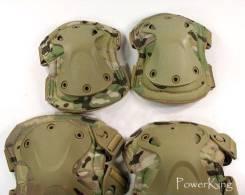 """Тактическая защита Локтей """"Х""""-форм - цвет Multicam."""