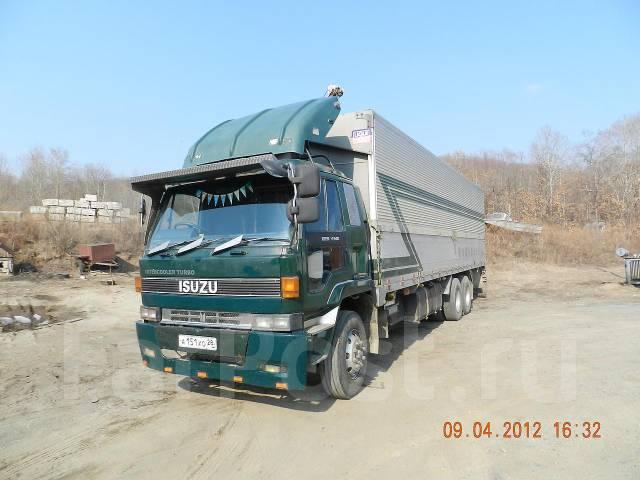 Япония ISUZU L340, 1990. Isuzu L340, 1990г, 13 740 куб. см., 10 000 кг.