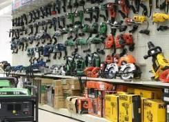 Прокат и аренда: электро, бензо, ручной, аккумуляторный инструмент