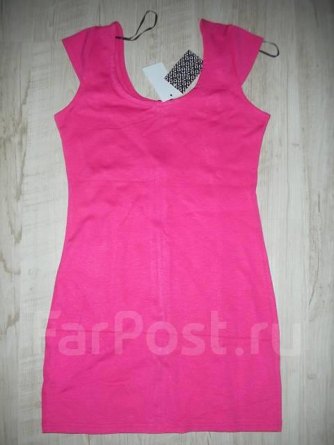 Платье розовое hm