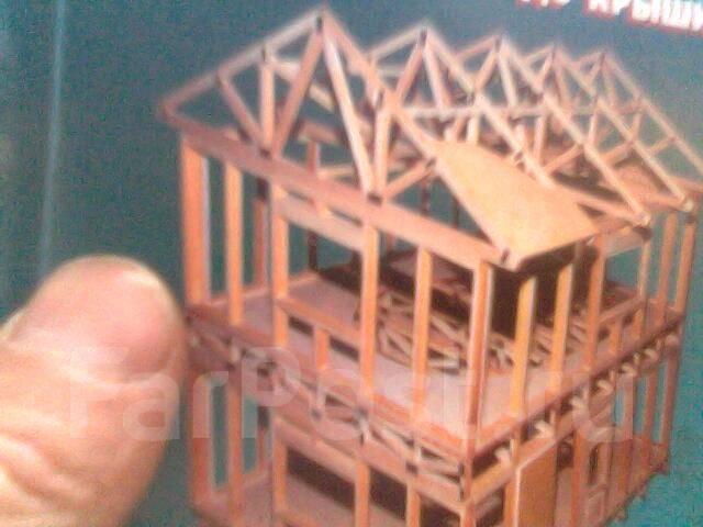 Строительство из бруса.