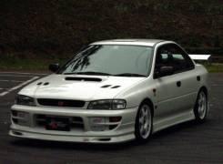 Накладка на бампер. Subaru Impreza, GC2, GC8, GC1, GC6, GC4. Под заказ