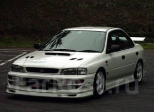 Накладка на бампер. Subaru Impreza, GC1, GC2, GC4, GC6, GC8. Под заказ