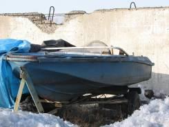 """Лодка """"Нептун"""" с рулевым и прицепом"""
