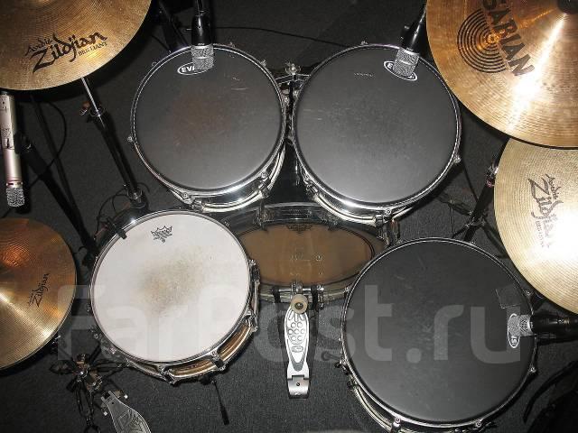 Запись Живых барабанов! Студия 'Драйв'
