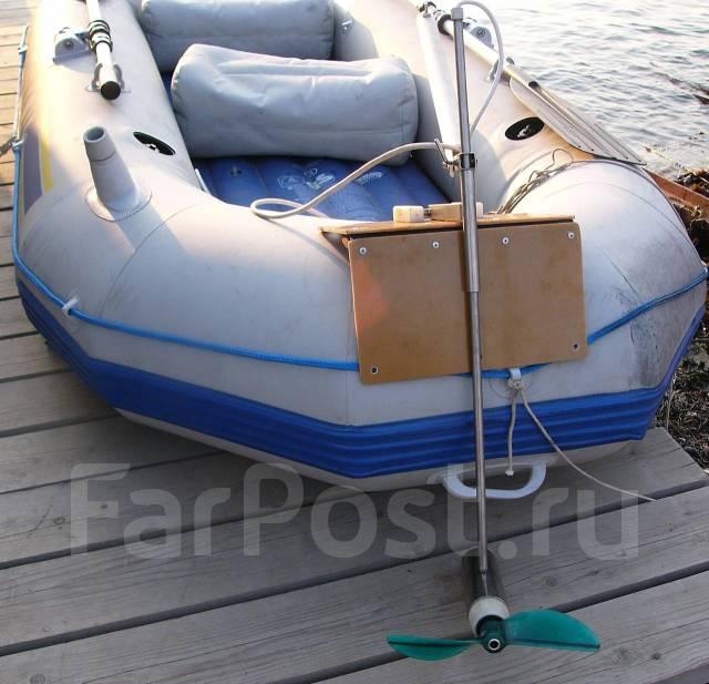 Электрические лодочные моторы своими руками